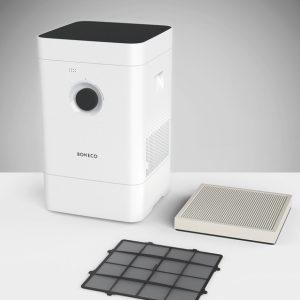 Hibridni vlažilnik in čistilnik zraka BONECO H300