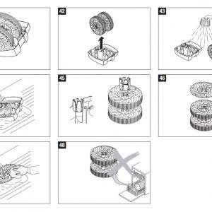 Diski komplet za BONECO pralnik zraka